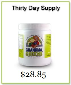 grandma greens 30day with price